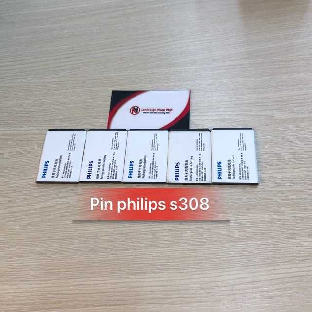 Pin Philips S308