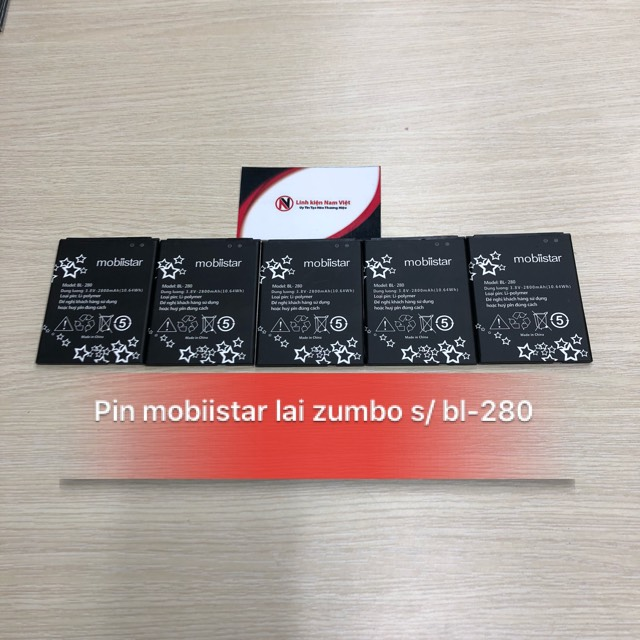 Pin Mobiistar Lai Zumbo S / BL-280
