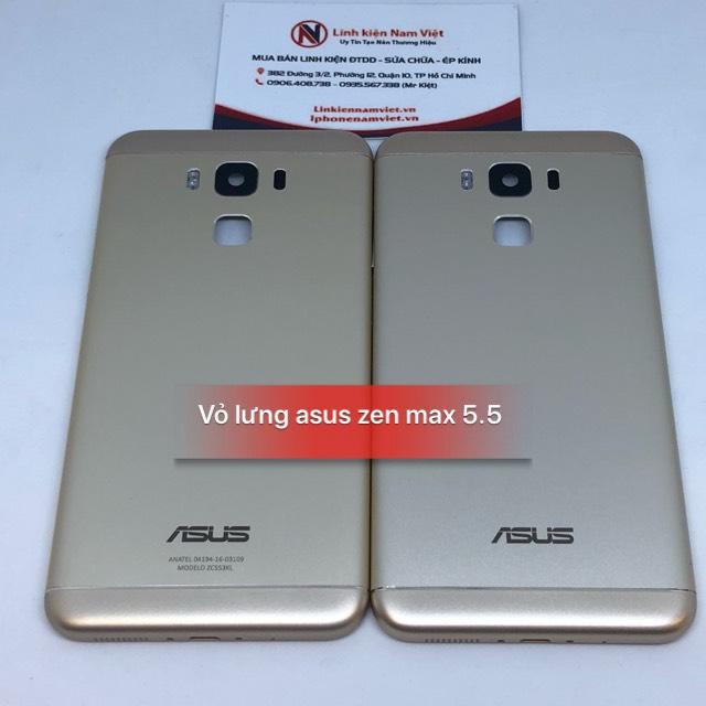 vỏ lưng Asus zen max 5.5