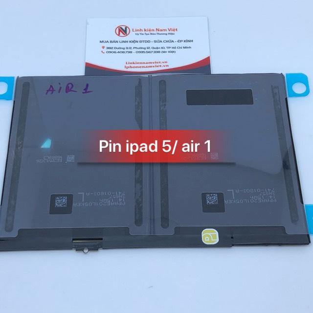 Pin iPad 5 - Air 1