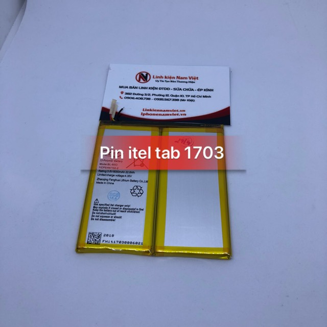 Pin Itel Tab 1703