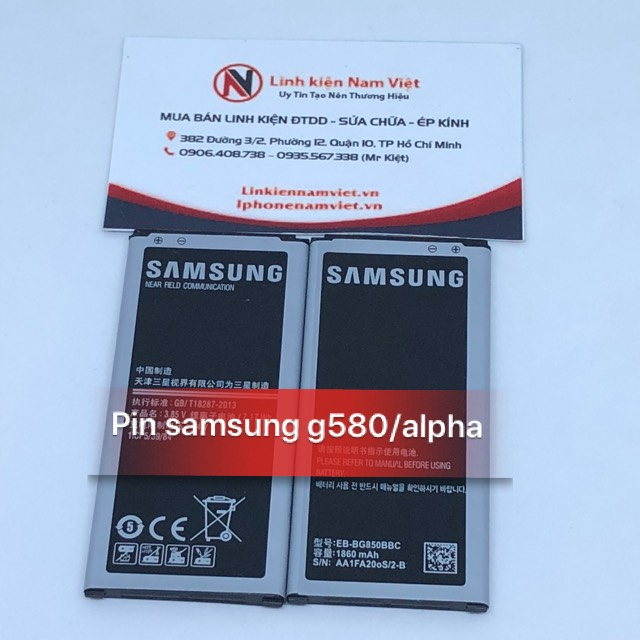 pin Samsung G580/Alpha