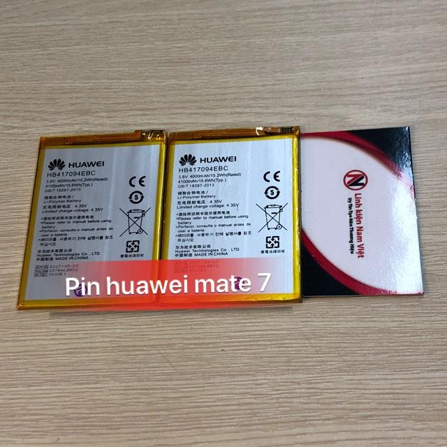 Pin Huawei Mate 7