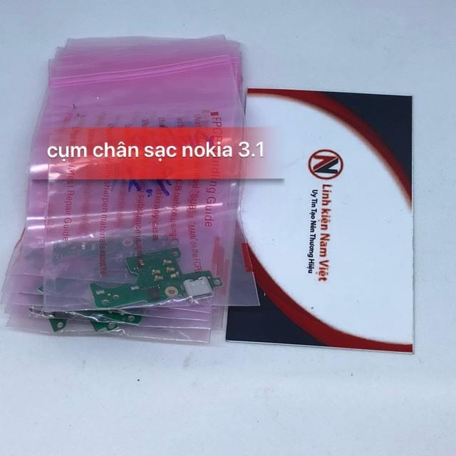 cụm chân Sạc Nokia 3.1