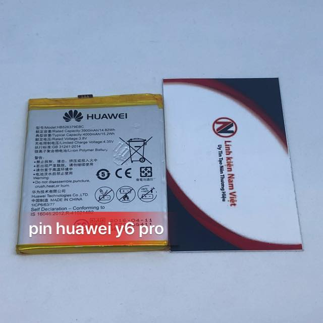 Pin Huawei Y6 Pro / Joy 5 / U02