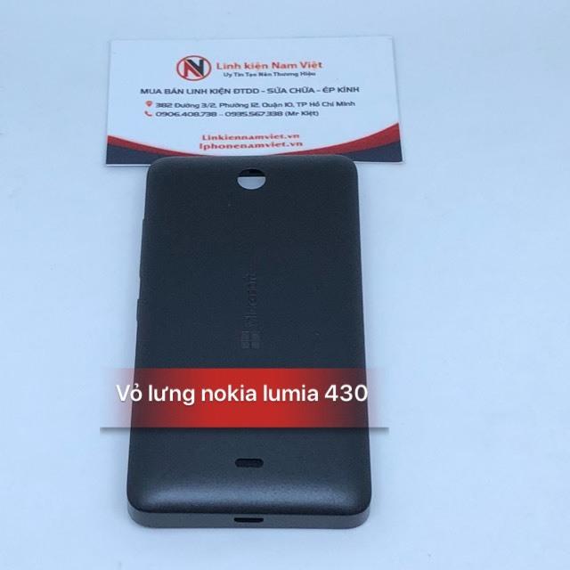 vỏ lưng nokia lumia 430