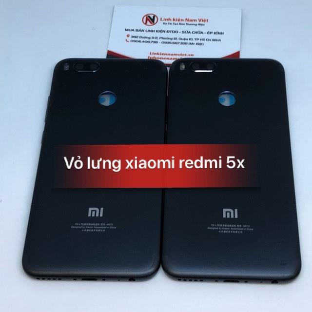 vỏ lưng Xiaomi Redmi 5X