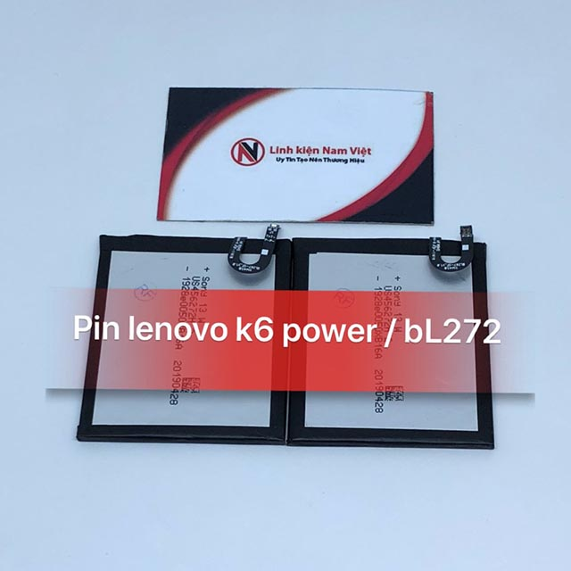 Pin Lenovo K6 Power / BL-272