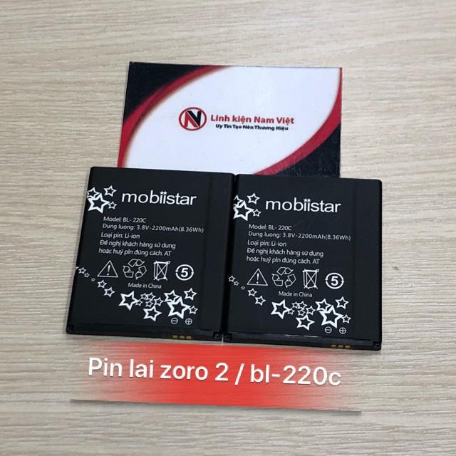 Pin Mobiistar Zoro 2 / BL-220c