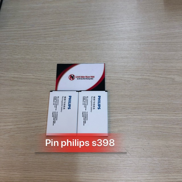 Pin Philips S398