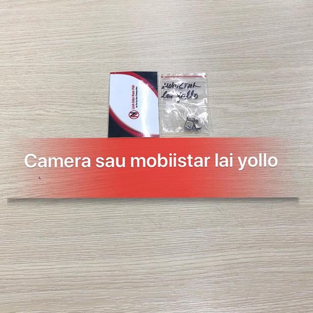 Camera sau Mobiistar Lai Yollo zin máy