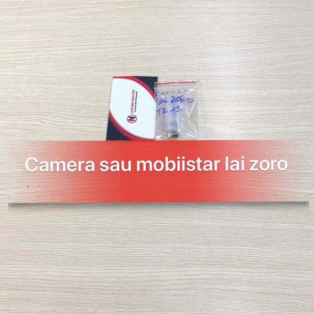 Camera sau Mobiistar Lai Zoro zin máy