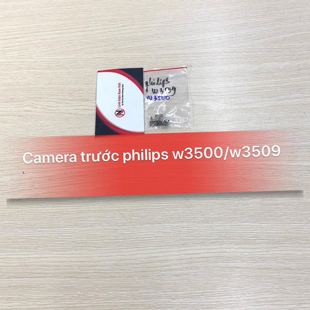 Camera trước Philips W3500 / W3509 zin