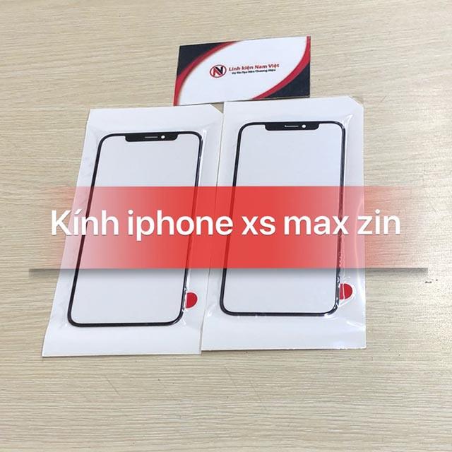 Mặt kính Iphone XS Max zin