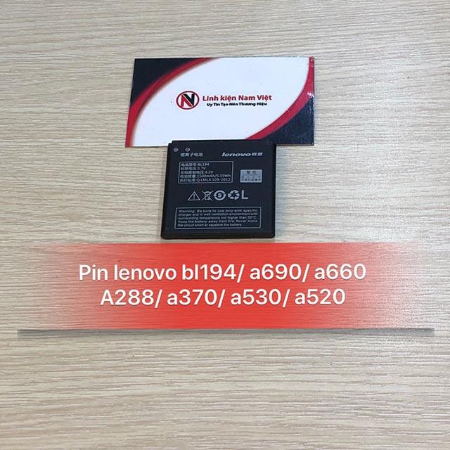 Pin Lenovo A690 / A520 / A530 / A370 / A660 / A288 / BL194