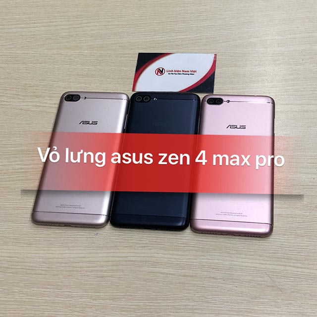 Vỏ lưng Asus Zen 4 Max Pro