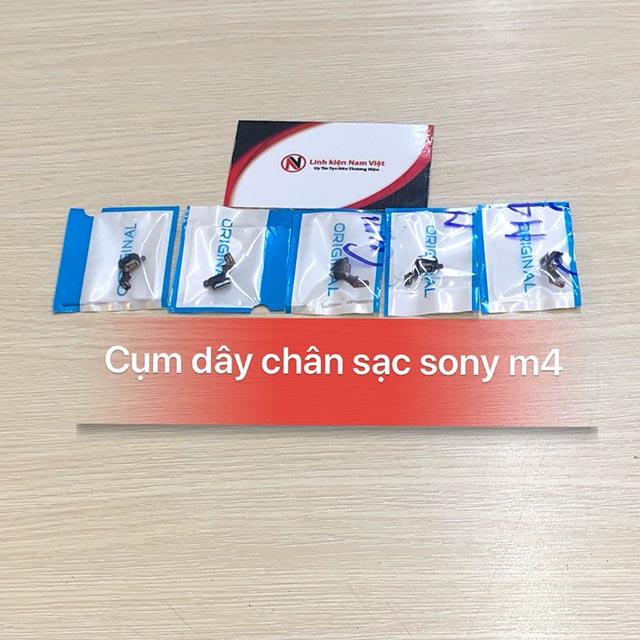 Cụm chân sạc Sony M4