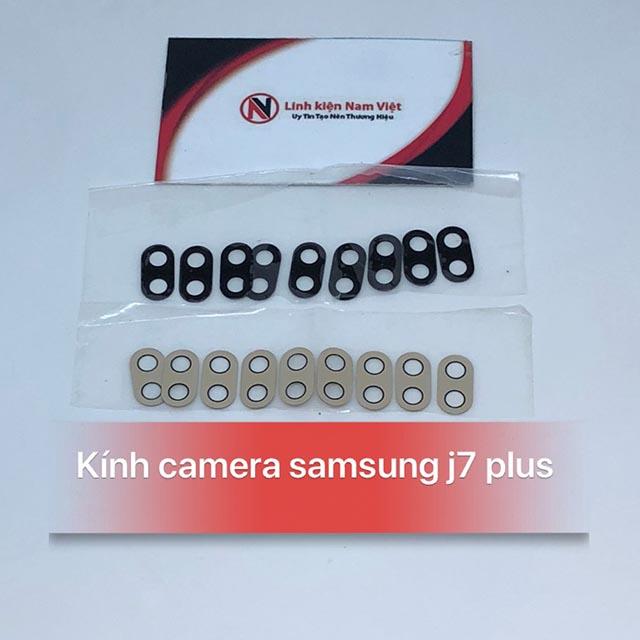 Kính Camera sau Samsung J7 Plus
