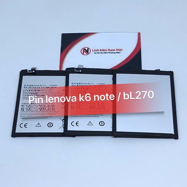 Pin Lenovo K6 Note / BL-270