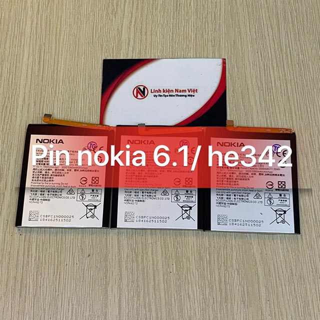 Pin Nokia 6.1 / 6.1 Plus / 5.1 Plus / X5 / X6 / HE342
