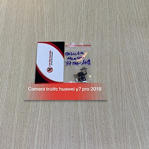 Camera trước Huawei Y7 Pro 2018