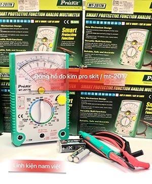 Đồng hồ đo kim Pro'skit MT-2017