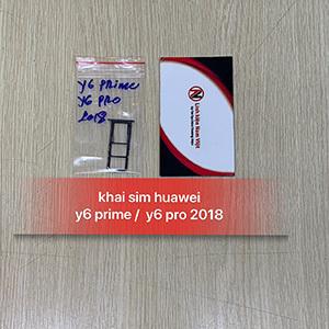 Khai sim Huawei Y6 Prime / Y6 Pro 2018
