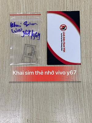 Khai sim thẻ nhớ Vivo Y67 / Y69