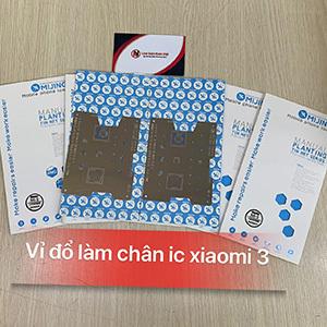 Vỉ đổ làm chân IC Xiaomi 3 / Xiaomi Note / msm8974 / 8274 / mijing mi-5