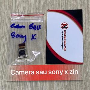 Camera sau Sony X