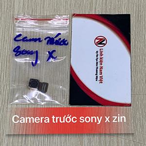 Camera trước Sony X