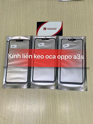 Kính liền keo OCA Oppo A3s