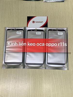 Kính liền keo OCA Oppo R11s