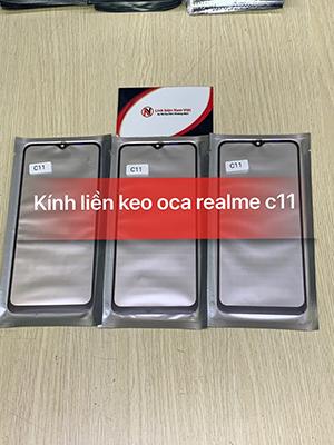 Kính liền keo OCA Oppo Realme C11