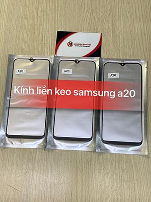Kính liền keo OCA Samsung A20 / A30s