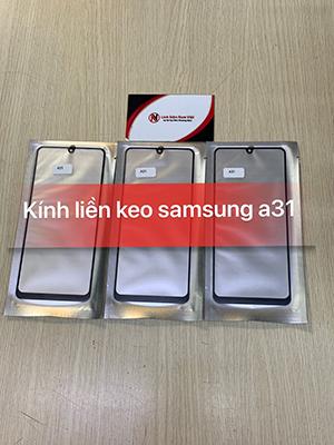 Kính liền keo OCA Samsung A31