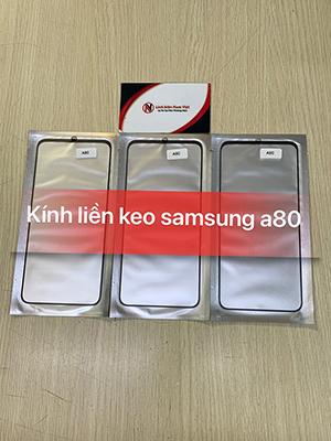 Kính liền keo OCA Samsung A80 / A90