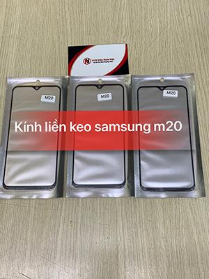 Kính liền keo OCA Samsung M20