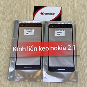 Kính liền keo OCA Nokia 2.1 / 2.1 Plus