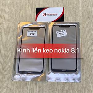 Kính liền keo OCA Nokia 8.1 / 7.1 Plus / X7