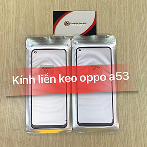 Kính liền keo OCA Oppo A53 / A32 - 2020