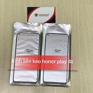 Kính liền keo OCA Huawei Honor Play 4T