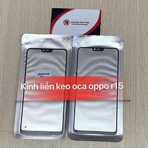 Kính liền keo OCA Oppo F7 / Oppo A3 / R15