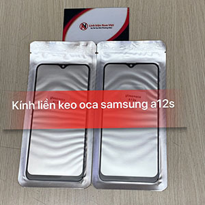 Kính liền keo OCA Samsung A12s